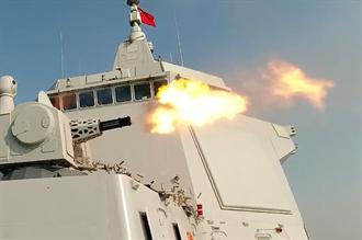 加裝渦輪發電機 陸帶刀侍衛055艦可添雷射、電磁炮殺器