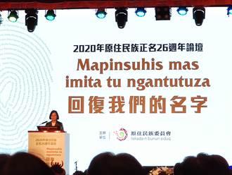蔡英文5度參加原住民族日活動 「盼所有台灣人聆聽原住民史」
