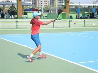 全國青少年暨大專網球賽台中開打 700名網球好手競技