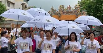城隍廟前疫情快「傘」 好戲野市更吸睛