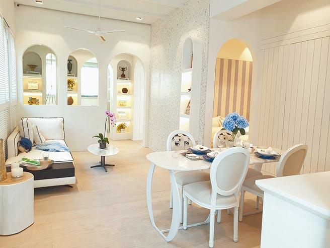 「國泰川青」每坪單價達40萬,進場一個月即成交6成,主要是自住客對未來住家有一定品質要求。(王莫昀攝)