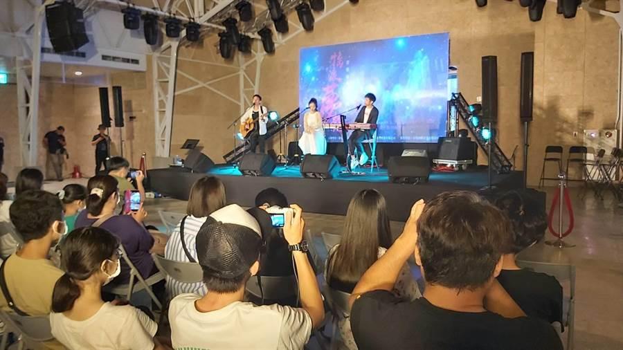 新竹市文化基金會舉辦搖滾夢想音樂講座,希望在後疫情時代透過音樂鼓舞人心。(新竹市文化基金會提供/邱立雅竹市傳真)