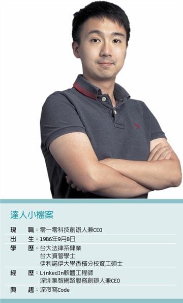 職場達人-零一零科技創辦人兼CEO 黃適文用AI搭建 法律諮詢平台