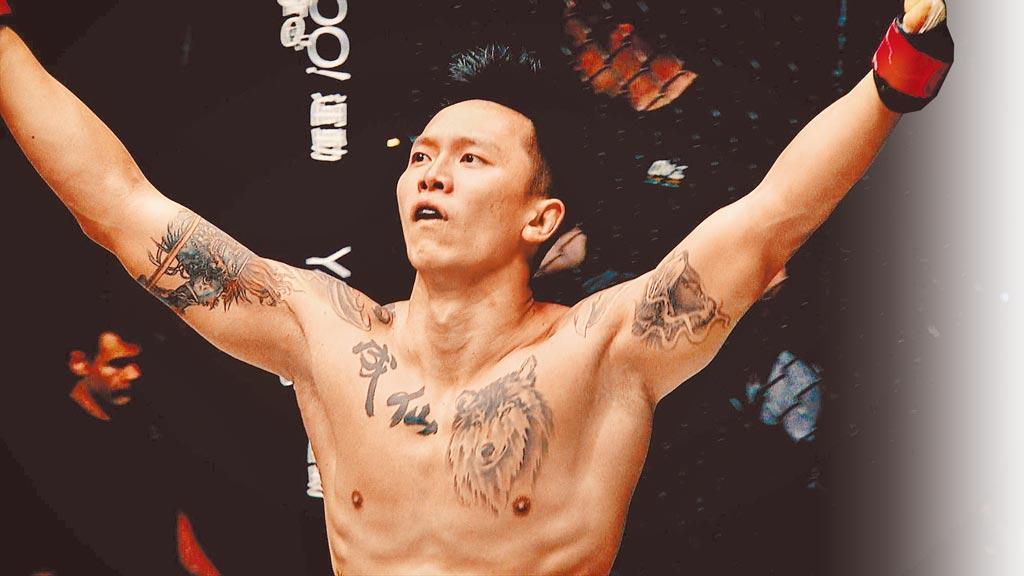 《逆者》記錄綜合格鬥選手黃育仁的奮鬥人生。(翰森娛樂提供)