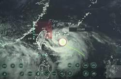 輕颱哈格比增強中 氣象局不排除晚間8點前發陸警