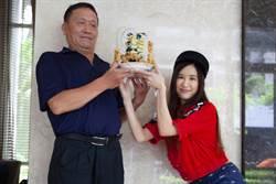 田心蕾八爪機械變形蛋糕送爸爸 提早過父親節
