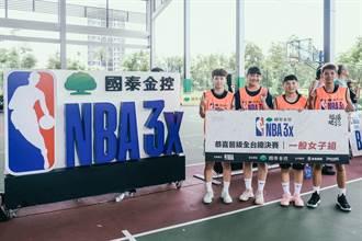 國泰NBA 3x高雄預賽 三民大獲全勝