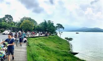 報復性旅遊 南投觀光客大爆滿
