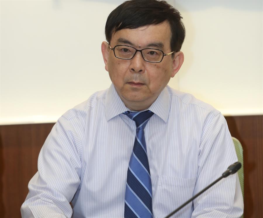 台大醫院小兒部主任黃立民認為確診的比利時工程師在台灣染病機率較大 (本報資料照/劉宗龍攝)