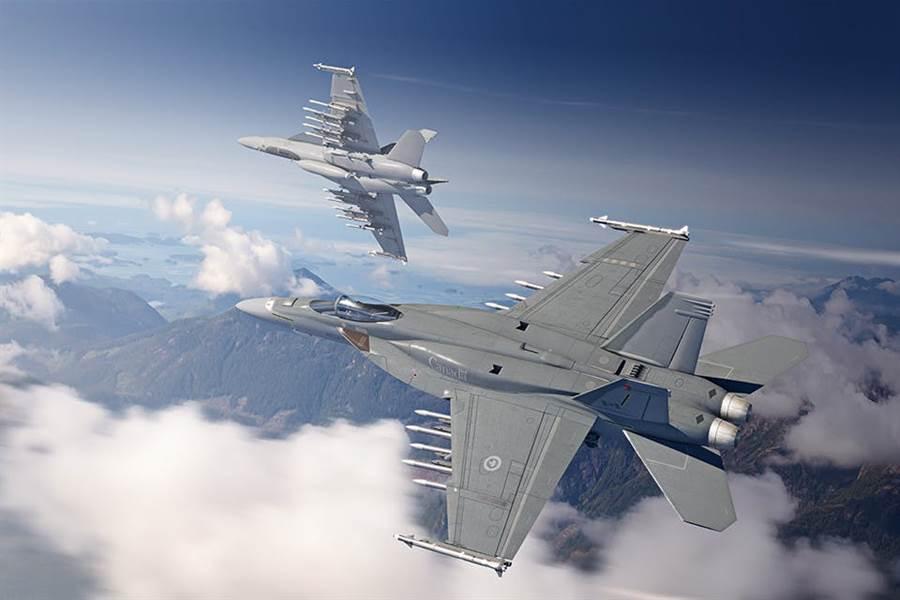 波音第3批次(Block III)「超級大黃蜂」(Super Hornet)戰機。(波音)