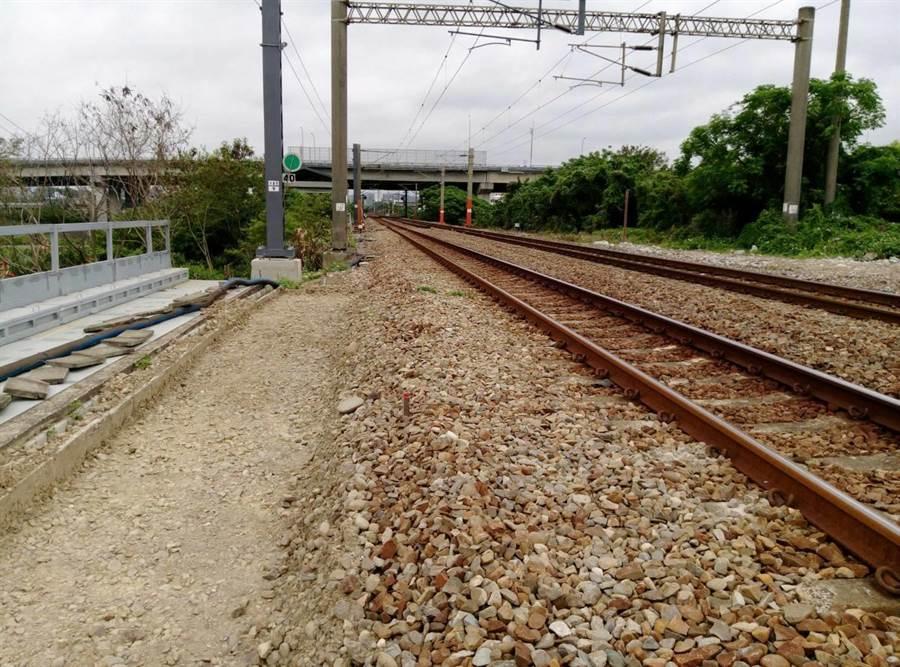 台鐵將進行豐富站東線曲線改善工程。(台鐵局提供)