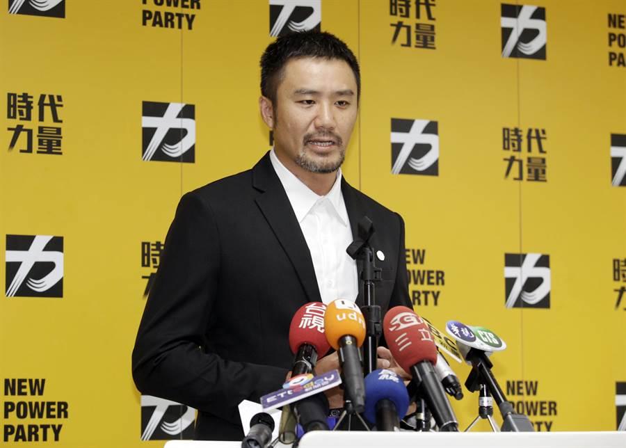 時代力量秘書長陳志明。(資料照片)
