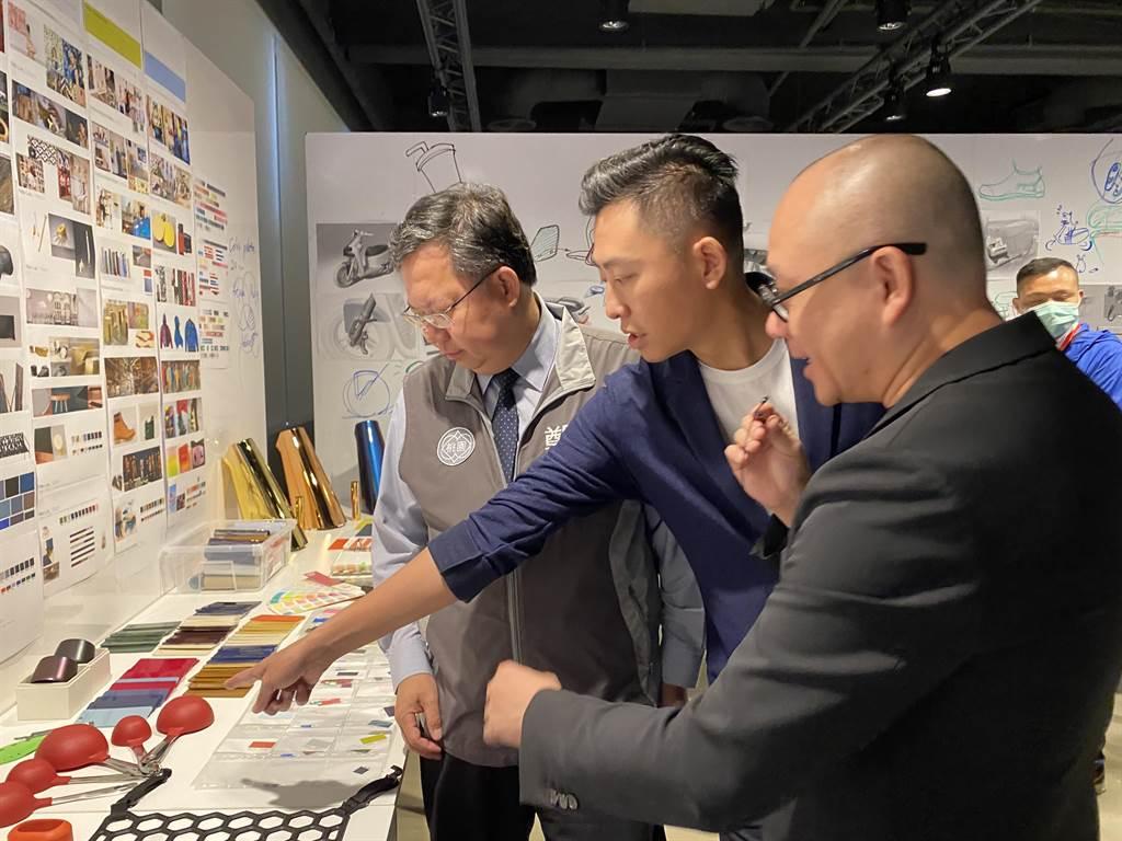 Gogoro也首度公開設計部門「design studio」。(蔡依珍攝)