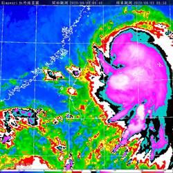 哈格比強度將達到顛峰 鄭明典示警:這個俗稱颱風尾
