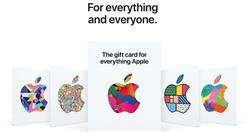 蘋果推出全新Everything Apple禮品卡 什麼都能買