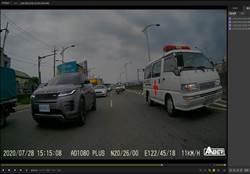 4警重機隊幫救護車開路救命 10分鐘路程變3分鐘