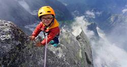 史上最年輕!3歲男童登上破萬英尺高山:我很享受過程