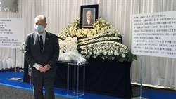 日本前首相森喜朗、現任副首相麻生太郎等至駐日代表處悼念李登輝