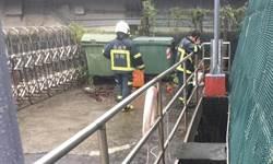 中颱哈格比來襲 台北市「下八仙抽水站」驚傳水利處人員落水失蹤