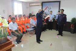 馬祖海巡隊新任隊長布達 林志明接任
