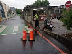 台中台灣大道公車與機車相撞 大學生騎士送醫急救