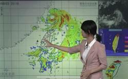 中颱「哈格比」逐漸遠離 最快23時30分解除海警