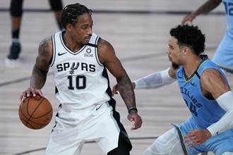 NBA》紀錄延續?迪羅薩兩罰助馬刺險勝