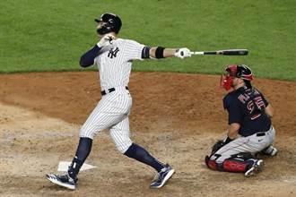 MLB》全體肅立 洋基法官連5戰開轟橫掃紅襪