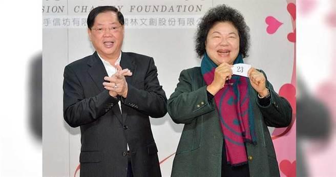 以林崑海(左)為首的海派,去年在全代會拿下一席中常委,今年力爭兩席卻失利。(圖/報系資料照)