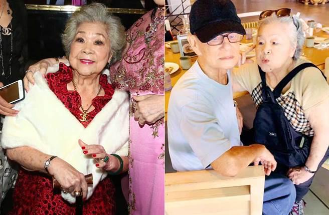 素珠阿姨消失2年,上回消瘦又拄枴杖,如今近況曝光,氣色跟精神尚好。(取材自中時資料照片、吳素珠臉書)