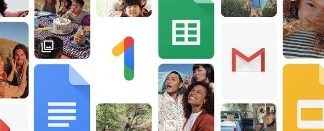 Google One服務推出專屬App,可提供手機備份功能。(摘自Google Blog)