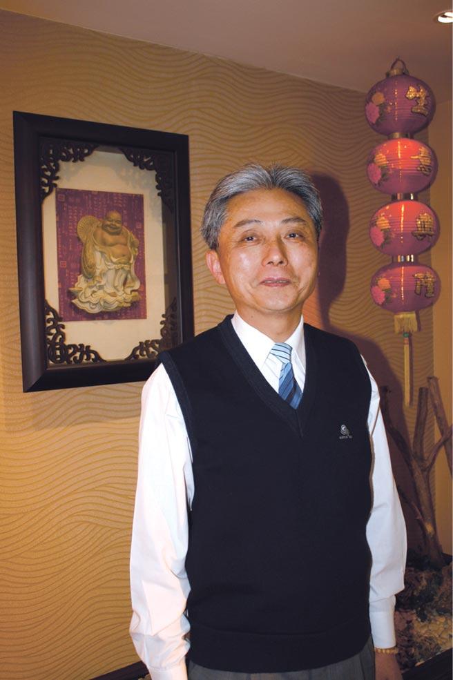 昭輝實業總經理林宜宏。圖/劉朱松