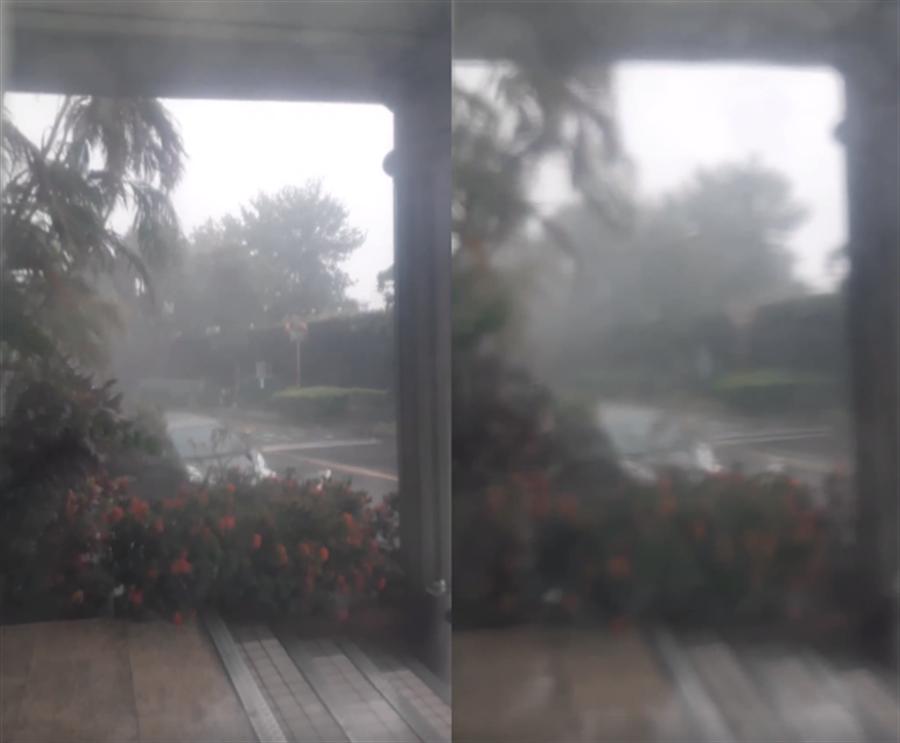 哈格比狂風暴雨!客人直催他爬屋頂裝第四台 理由傻眼:要我找死嗎。(翻攝自 爆怨公社)