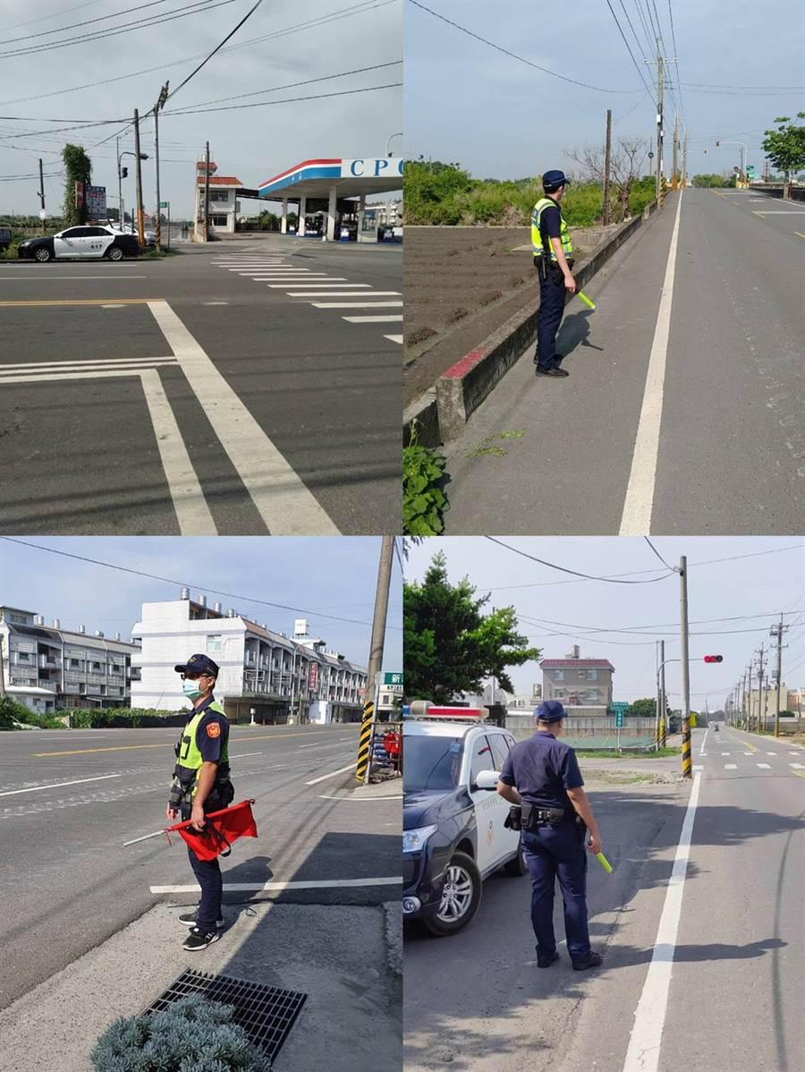 彰化縣內交通大執法開始了!警方為減少交通事故傷亡,即日起強力取締交通違規。(警方提供/謝瓊雲彰化傳真)