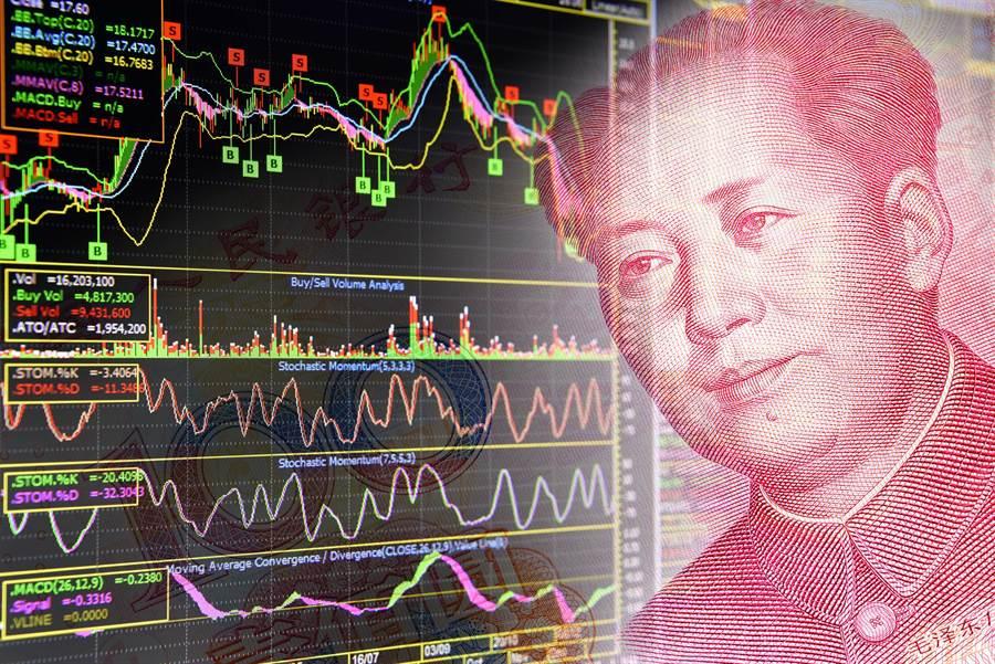 大陸A股今年以來已有超過3000億元人民幣的淨減持數據。(shutterstock)