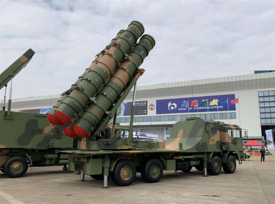 紅旗22型飛彈,也就是凱山3型。(圖/新華網)