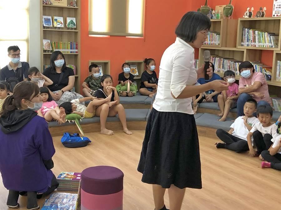 金沙鎮首座親子遊藝館提供一處豐富、多元的親子互動場域。(李金生攝)