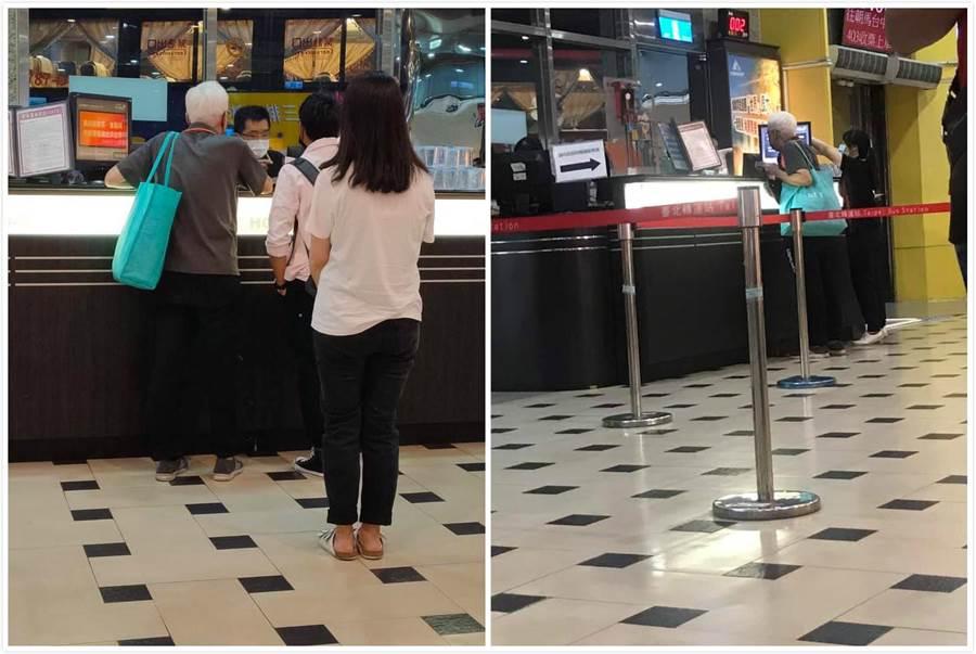一位網友表示在車站見一位阿伯心急如焚想趕上車,好心「送車票」。見阿伯一舉動秒心碎。(摘自爆廢公社)