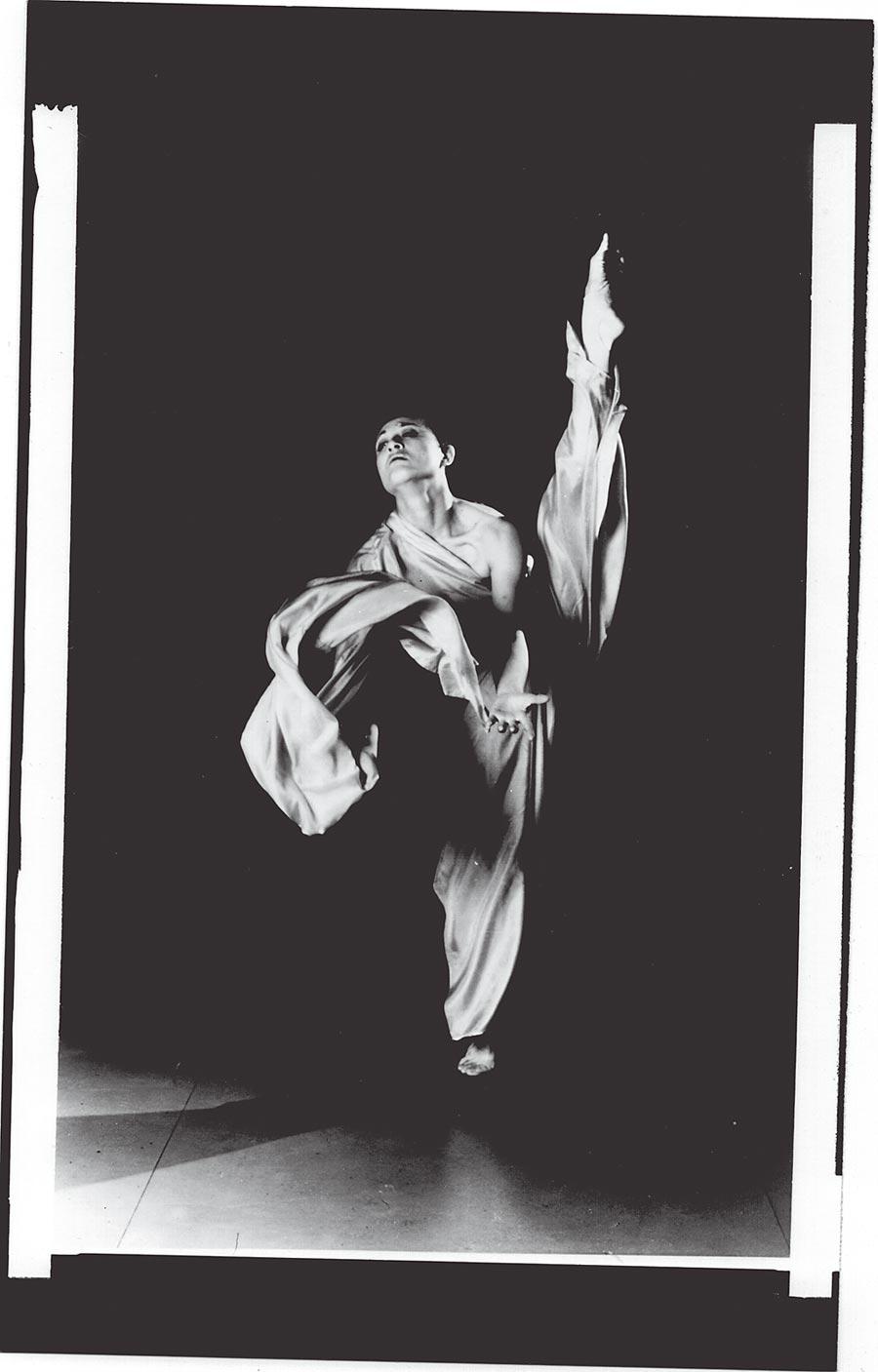 《陽關》舞作照。(柯錫杰攝,江青提供)
