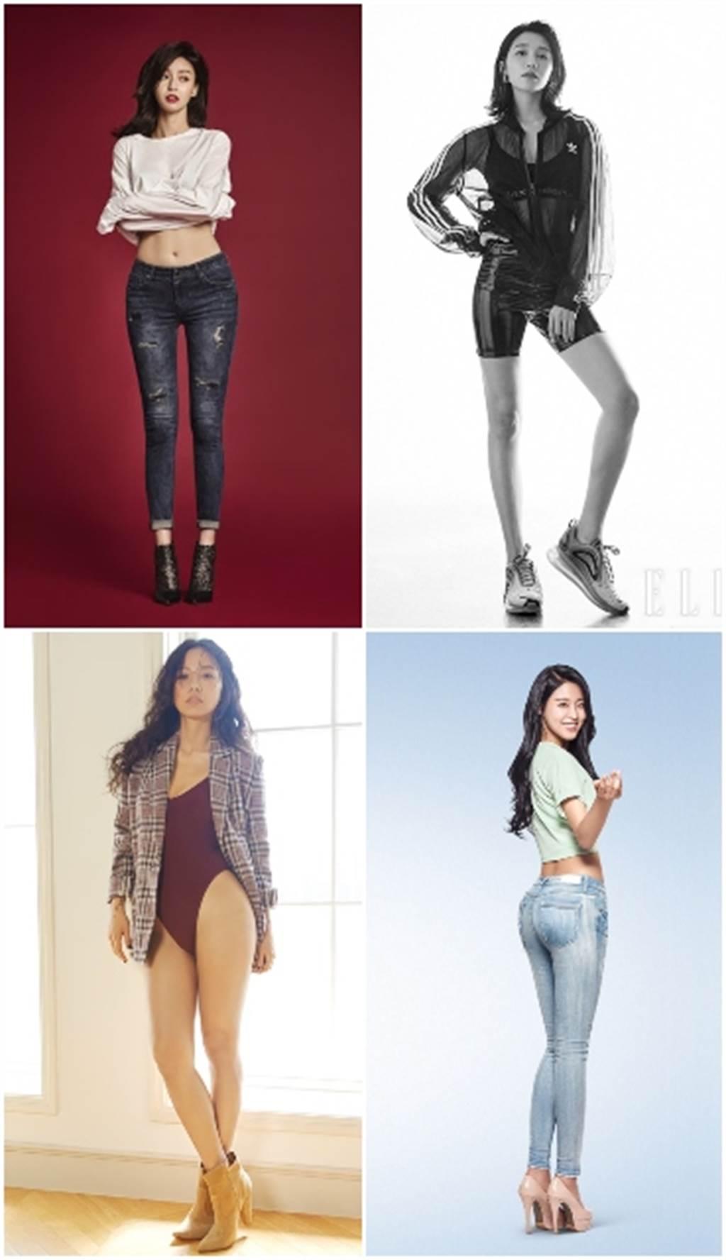 「5大最想要的女星身材」排行榜 泫雅竟消失還輸她(圖/allurekorea、ELLE、nate)