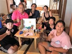 台西海口故事屋藝術家進駐 學童用動畫記錄家鄉