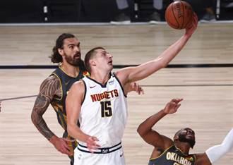 NBA》約基奇30分大三元 金塊延長賽逆襲雷霆