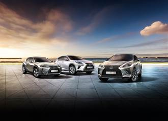 LEXUS SUV三兄弟建功,豪華品牌銷售王座三連莊