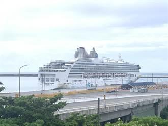 颱風天花蓮港意外熱絡 探索夢號首航花蓮