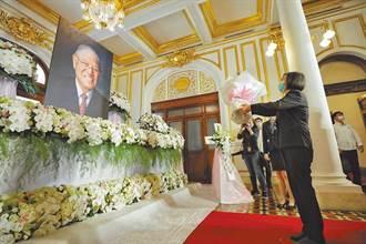 逾7千人追悼李登輝 蔡英文今再度赴會場追思關切