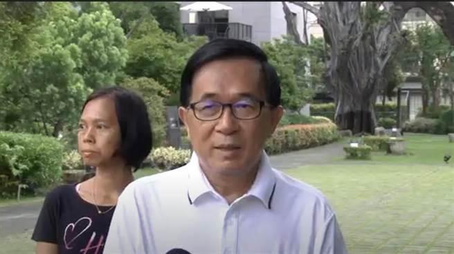 前總統陳水扁。(資料照/曹婷婷攝)
