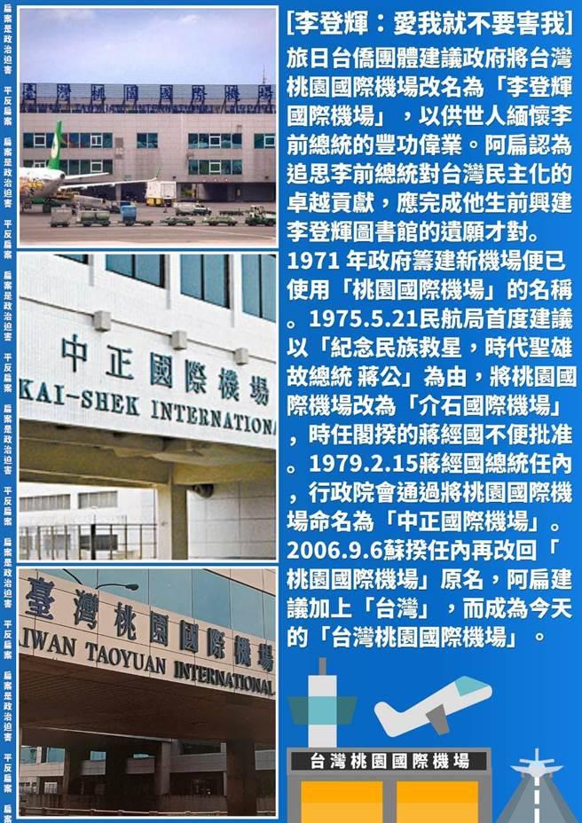 前總統陳水扁4日表示,應完成李前總統生前興建「李登輝圖書館」的遺願。(摘自臉書/李宜杰台南傳真)
