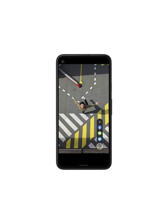 Google今日在台推出全新智慧機Pixel 4a。(圖/業者提供)
