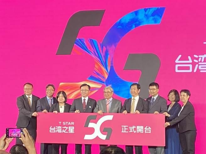 台灣之星於4日舉辦5G開台,宣布標2025年總用戶數破400萬。(圖/林淑惠)