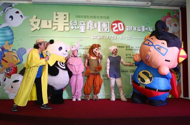 赵自强表示,打从学生时期一路走来,他接触各类型表演,还是觉得做儿童节目、演戏给小朋友看最有趣。(邓博仁摄)